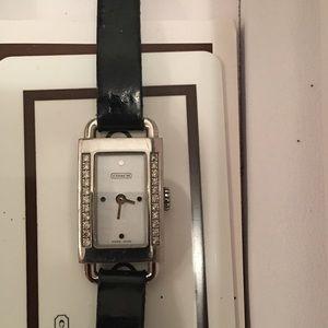 Coach Diamond Watch (see description)